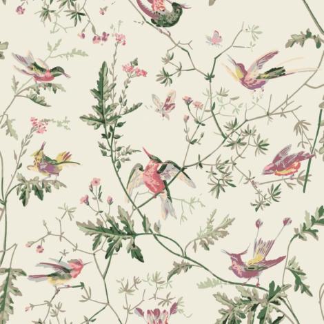 Hummingbirds Cotton Fabrics