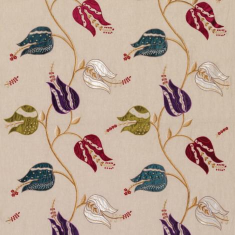 Isfahan Tulip Fabric